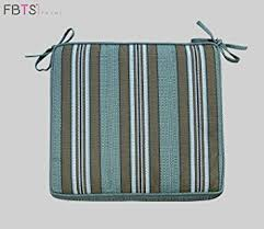 Square Bistro Chair Cushions Bistro Chair Cushion 16 X 16 Inches Indoor Outdoor