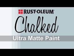 how to video how to apply rust oleum chalked paint youtube