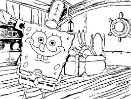 printable spongebob coloring pages