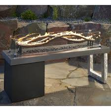 Propane Firepit The Outdoor Greatroom Company Wave Propane Pit Table