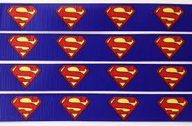 superman ribbon superman scrapbooking ribbon