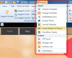 getting started with artisteer for visual studio applications
