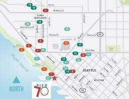 Seattle Neighborhood Map by Neighborhood Pier 70 Pier 70