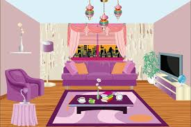Pink And Purple Room Decorating Games New Pink Room Decoration - Living room decor games