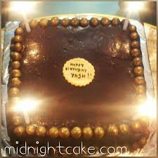 square birthday cake delivery at midnight or day time