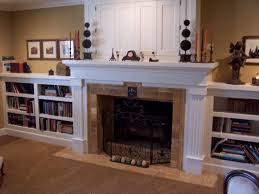 Fireplace Bookshelves by Image Detail For White Fireplace Surround With Matching Bookcase