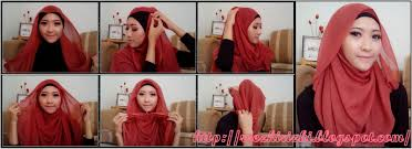 tutorial hijab segi empat paris simple tutorial hijab paris segi empat sehari hari tutorial hijab paling