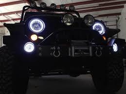 jeep wrangler light wiring ijdmtoy led halo rings drl fog lights wiring demo