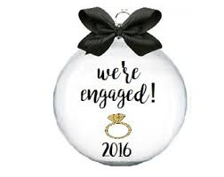 engagement ornament engagement ornament just