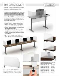 Office Desk Privacy Screen Smartdesks The Great Divide Privacy Screens For Testing
