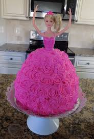 best 25 barbie birthday cake ideas on pinterest doll cakes