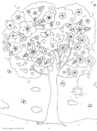 outdoor children activities in spring coloring page coloring home
