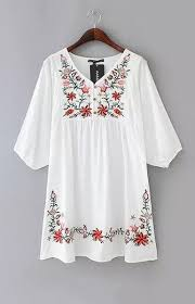 5 ways to wear the embroidery trend and 50 dress designs