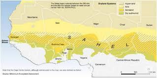 The Sahel Map The Sahel A Region Between Environmental And Social Fragility
