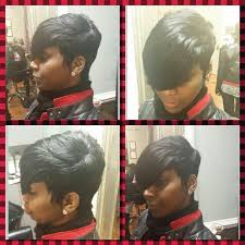 27 Piece Weave Hairstyles Www Styleseat Com Brockshair Short Hair Styles Pinterest