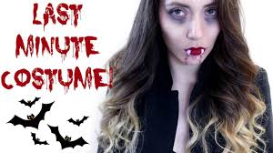 quick vampire costume idea sweetbee youtube