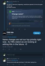 pubg name change changing your name ui other playerunknown s battlegrounds forums