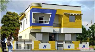 modern home design front view and landscaping beautiful indian