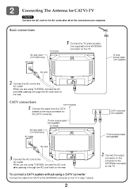 aiwa tv f2400 user manual