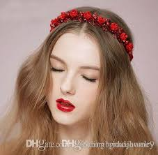 flower hair band 2018 wedding bridal hair band flower headband for women white