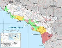 map of abkhazia file abkhazia ethnic map 2009 de svg wikimedia commons