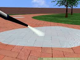 Best Way To Clean Paver Patio How To Remove Skid Marks From Concrete Pavers 6 Steps
