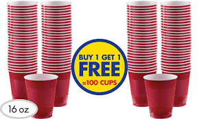 party cups buy one get one free bogo plastic paper cups party city