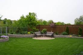 simple backyard landscape design clinici co