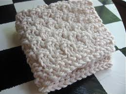 ramen noodle knitted dishcloth you can knit hanging from the