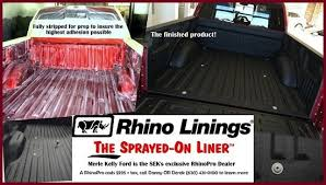 Rhino Bed Liner Cost Merle Kelly Ford New Lincoln Ford Dealership In Chanute Ks 66720