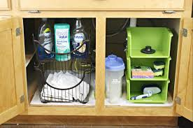 Kitchen Sinks Cabinets Under The Kitchen Sink Organization