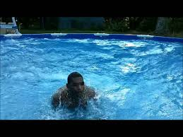 How To Build A Backyard Pool how to make a wave pool in your own backyard pool youtube
