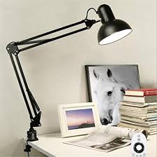 Modern Led Desk L Atcoe Modern Led Desk L Dimmable Metal Swing Arm Clip On Table