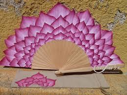 held paper fans flower petal fan interesting visual for a fan beautiful