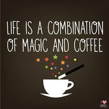 Coffee Magic suzi day on is a combination of magic coffee