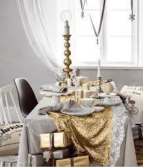 New Year S Eve Dining Table Decor by Glam Party Decor For A New Year U0027s Eve