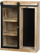 rustic glass kitchen cabinets rustic open wall cabinet with chalkboard back