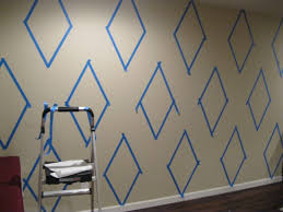 Home Painting Design Tool Geometric Wall Taping It Modern Her Tool Belt Fun Tutorial On