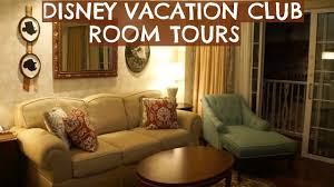disney vacation club room tours youtube