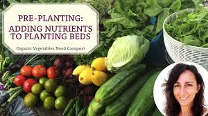 Vegetable Garden Preparation by Preparing Vegetable Garden Bed With Compost U0026 Amendments Youtube
