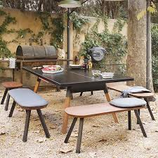outdoor table tennis dining table table tennis l220cm you and me jardinchic
