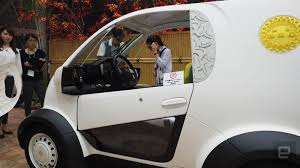 honda micro commuter concept car honda shows off 3d printed electric car customized in both