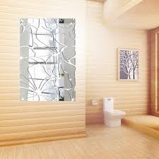 Door Decals For Home by 3d Removable Wall Sticker Decoration Mirror Acrylic Stickers For