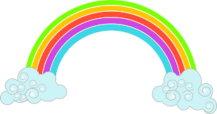 animated rainbow clipart collection
