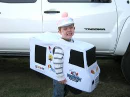 trick beep truck halloween costume babble