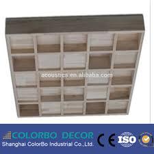 panneaux acoustiques bois écologique 3d courbe en bois décoratif acoustique son diffuseur