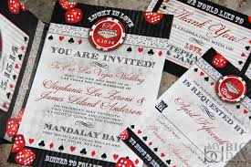 vegas wedding invitations lucky in las vegas destination wedding invitations vegas