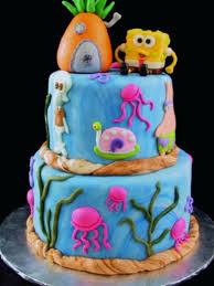 spongebob squarepants cake spongebob cake ideas 11773