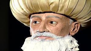 Ottoman Ruler Lebanon Circa 2004 Zoom Out To Black From A Wax Figure Of