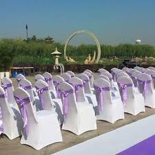 diy wedding chair covers 4pcs lot universal stretch polyester spandex dining chair cover
